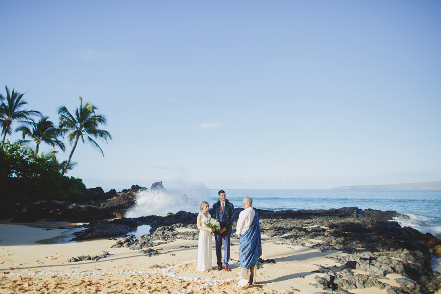 Wedding At Makena Beach