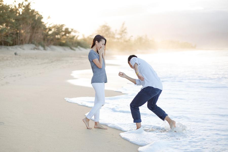 Suprise Proposal Maui