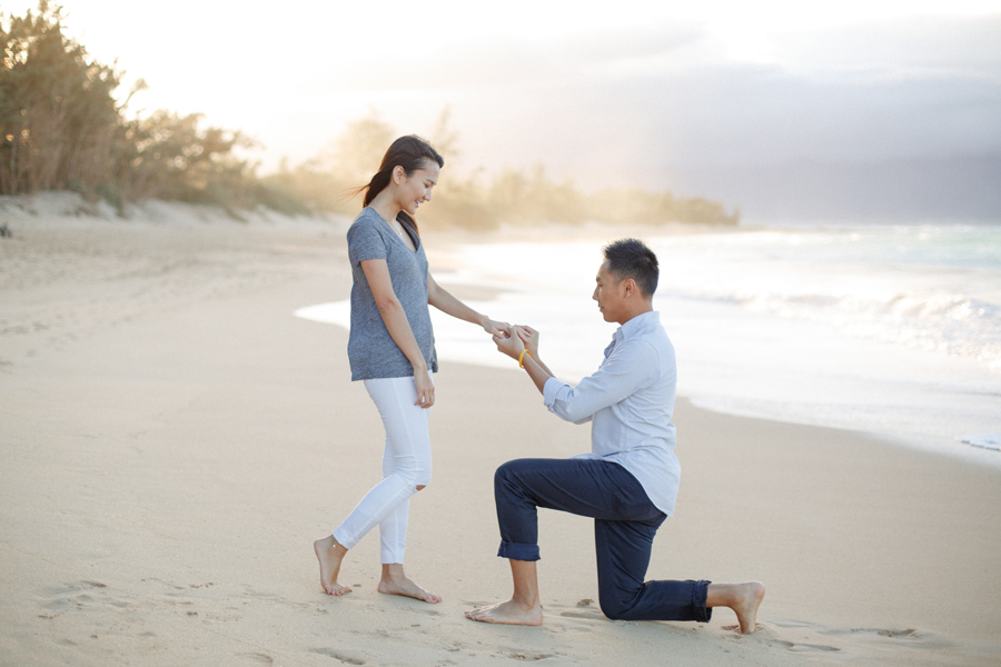 Suprise Proposal Maui Photographer