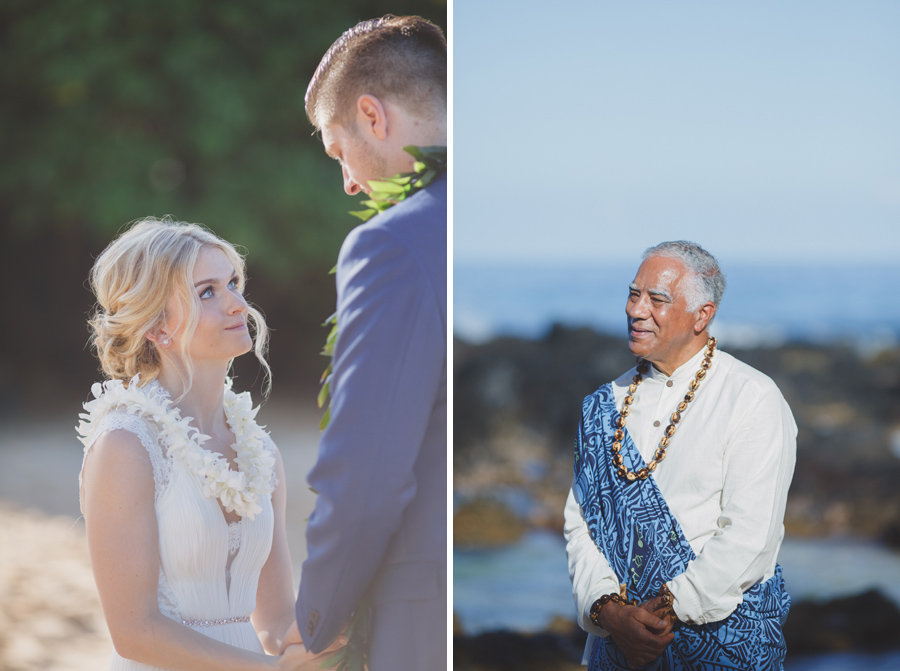 Joe Miles officiant Maui