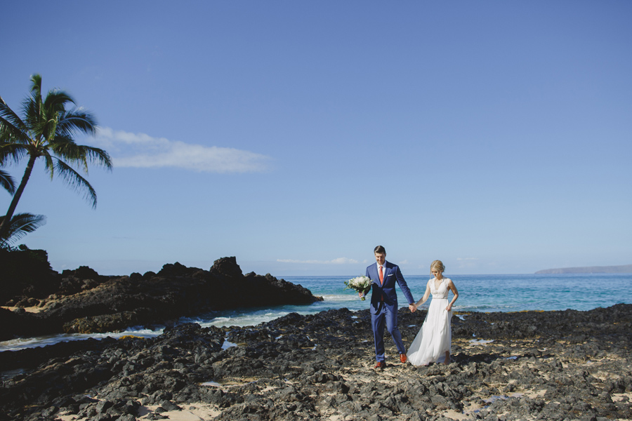 Fun Maui Wedding Photography