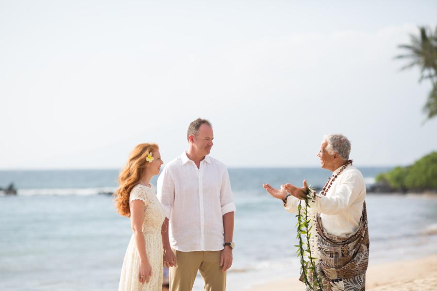 Joe Miles officient Maui Elopement
