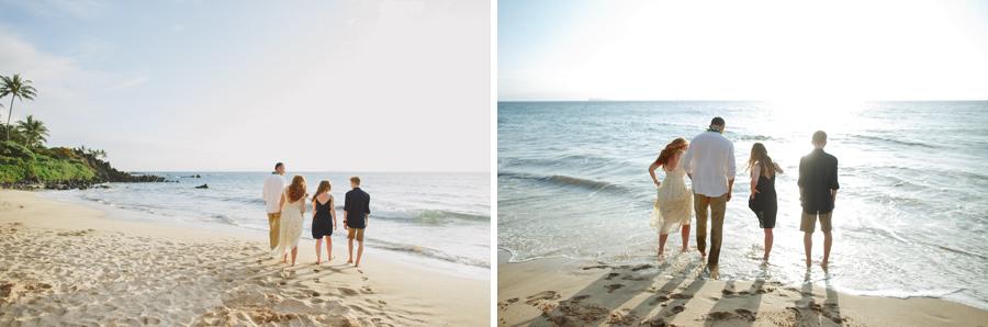 Family Wedding Photographer Maui