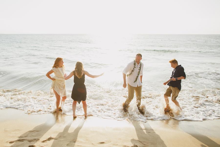 Free Spirited Family Wedding Maui