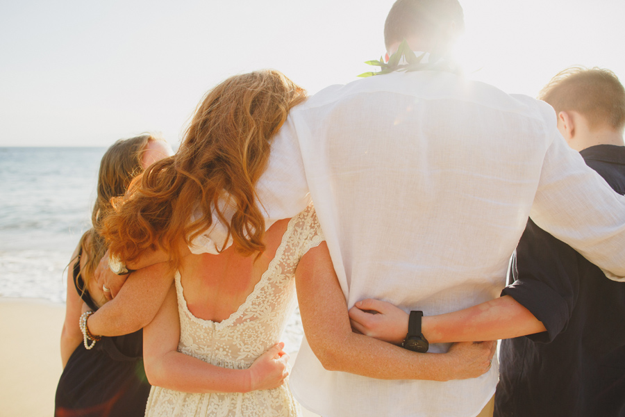 Fun Family Maui Wedding Photography
