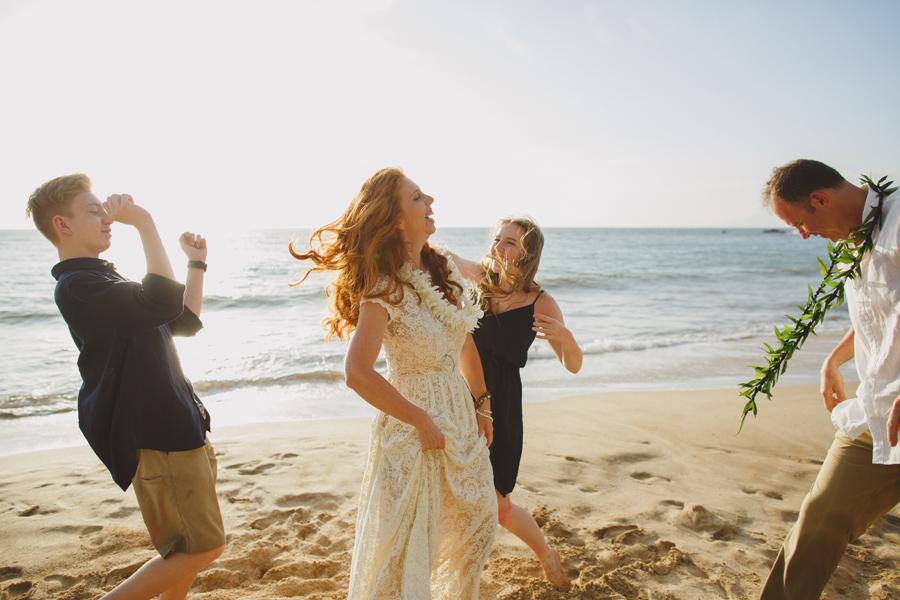 Dance On The Beach Maui Wedding