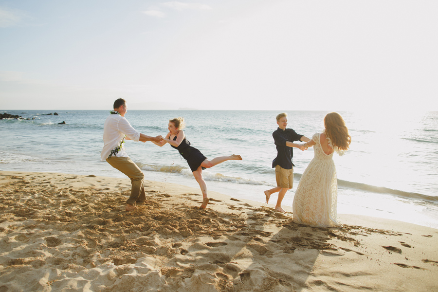 Dance On The Beach Maui Elopement Photographer