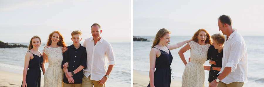 Silly Family Beach Elopement Maui