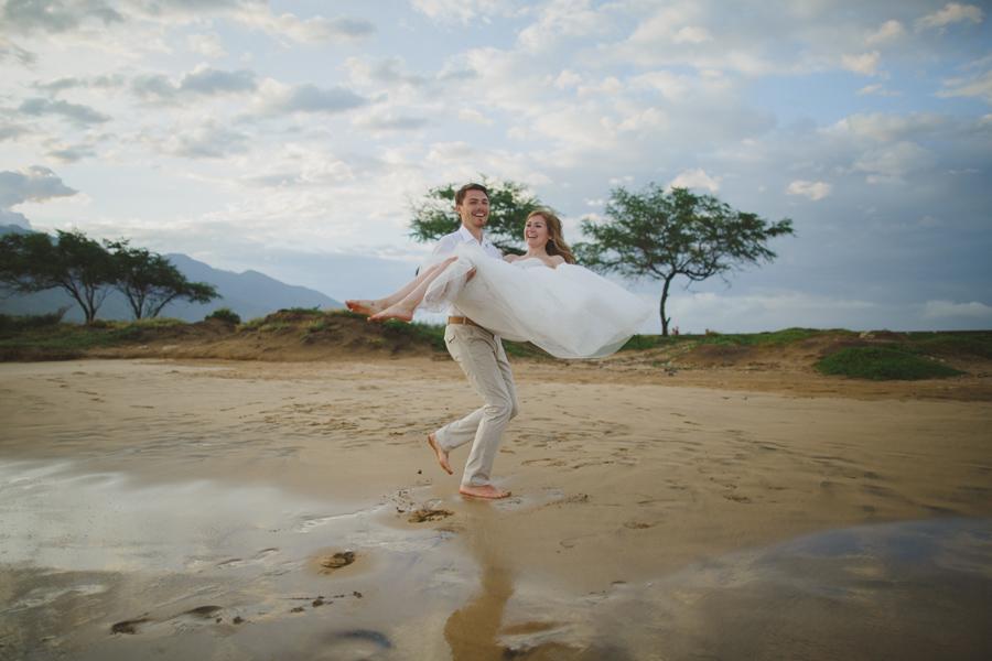 Fun Maui Wedding Photography