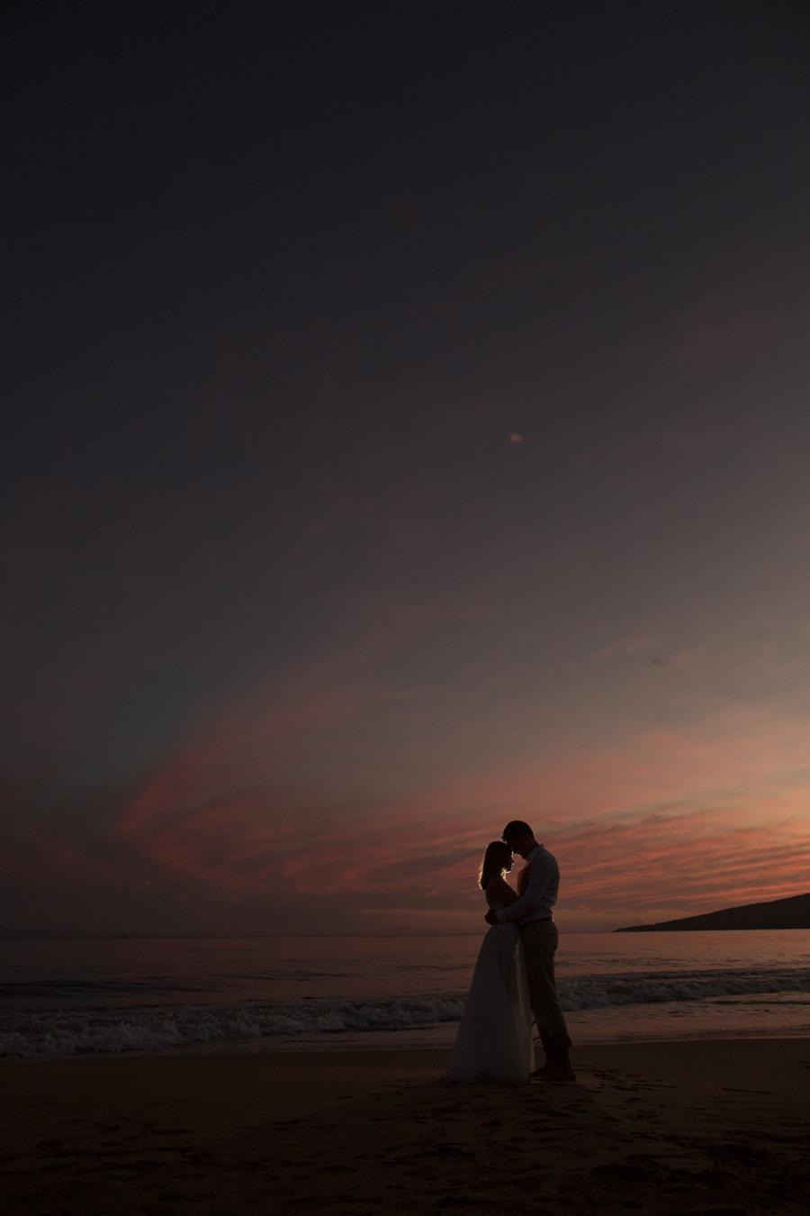 Sunset Wedding Photographer Maui