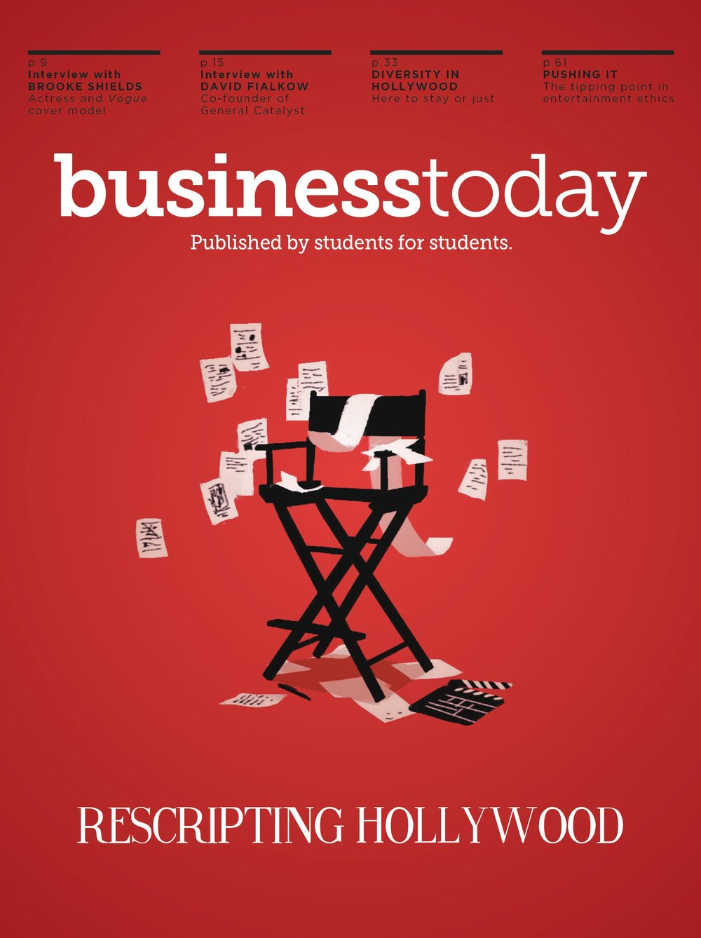 Business Today Magazine, Spring 2018 Issue