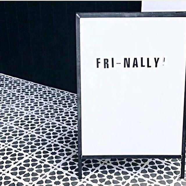Happy to see you again weekend! #fridayfeeling