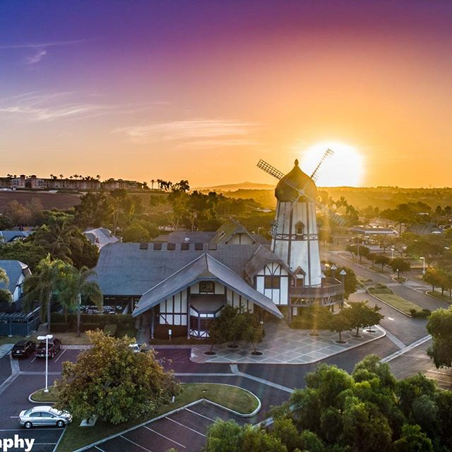A beautiful sunrise overlooking Carlsbad by the Sea Hotel. Photo by: @flybyphotograph