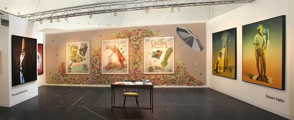 PABLO'S BIRTHDAY PRESENTS 3 ARTISTS AT VOLTA11.
