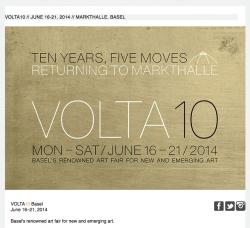 PABLO'S BIRTHDAY AT VOLTA10 BASEL. JUNE 16-21, 2014.