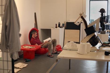 PABLO'S BIRTHDAY BECOMES POP UP STUDIO FOR BERLIN ARTIST