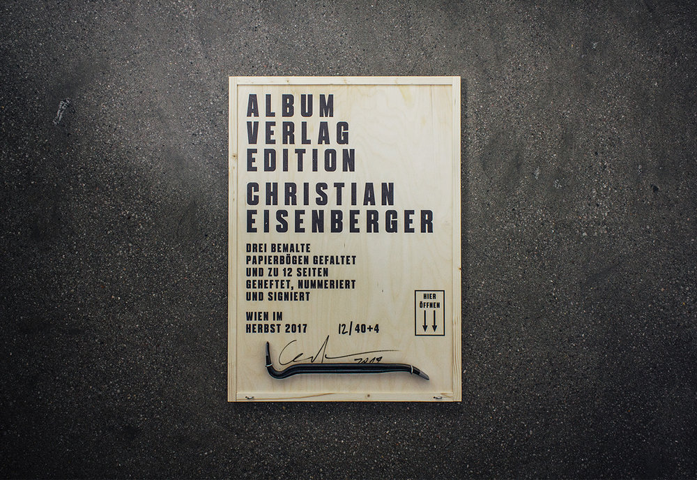 New Christian Eisenberger Book [HEFTLING]