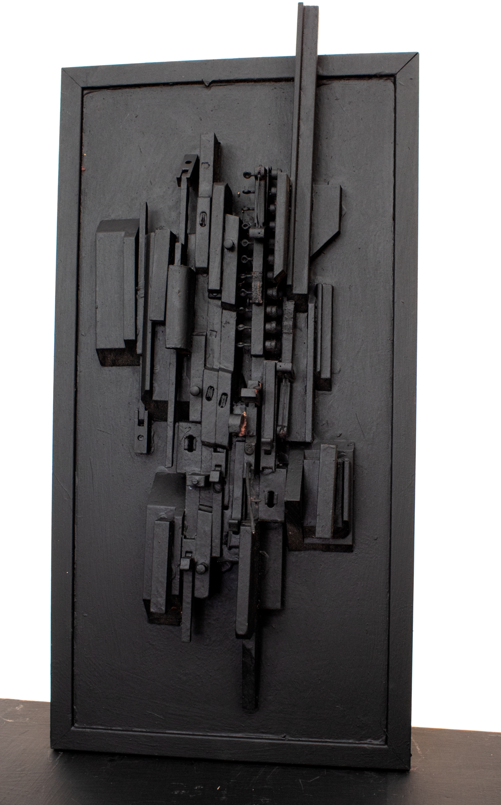 "Homage to Louise Nevelson No. 1; 24"" x 12.5"" x 5"""
