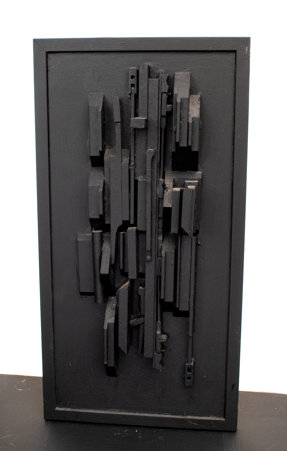 "Homage to Louise Nevelson No. 2; 24"" x 12.5"" x 5"""