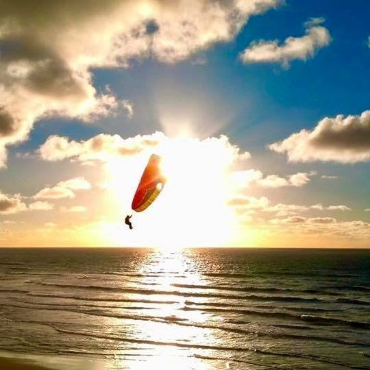 Natural High Paragliding - Paragliding Lessons and Tandem RidesCall Charlie at: 805-550-2552