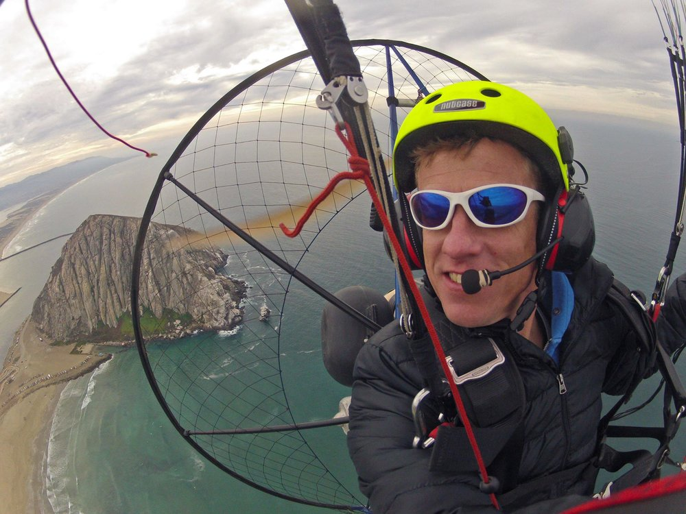 Fly The Fan - Powered Paragliding Lessons and Tandem RidesContact Patrick at: 805-748-6225