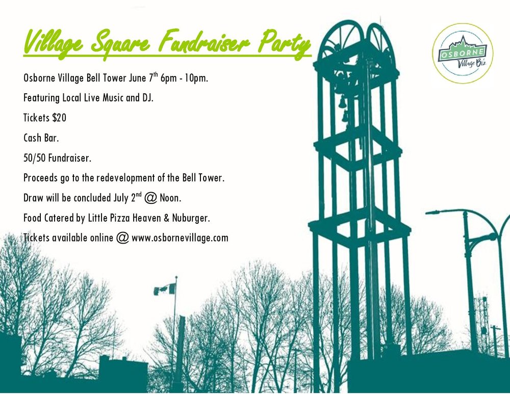 Join us for a Pocket Park party! - There is no better way to reimagine the site of the Bell Tower then gathering together, sharing ideas, food and drinks while contributing to funding the future remodelling work.It take a village!