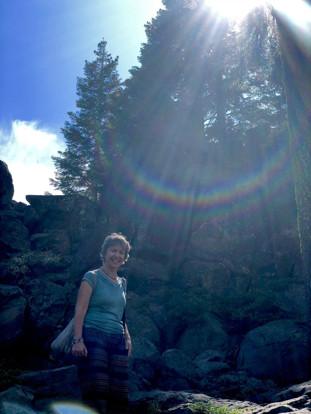 Rainbow - Bridge Healing Energy