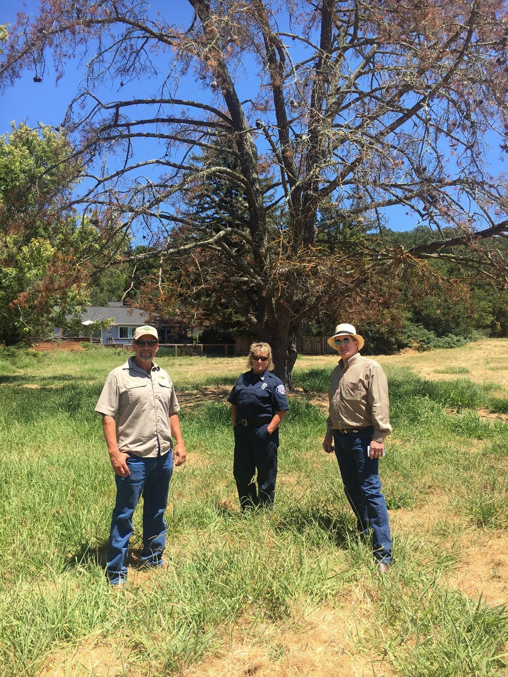 Wikiup Commons Fire & Tree Visit 7.25.18.jpg
