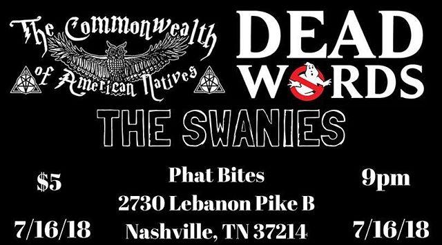 Night one!!! See ya there, Nashville!!