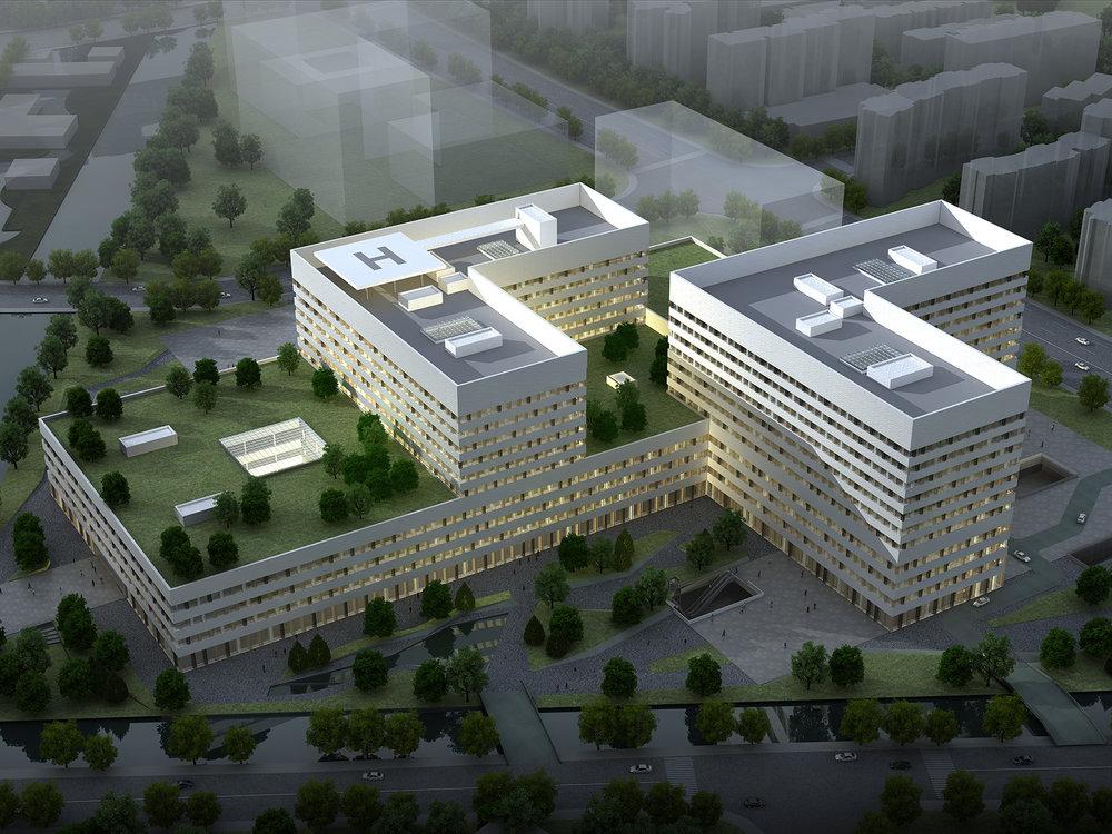 南京南部新城医疗中心  中国南京