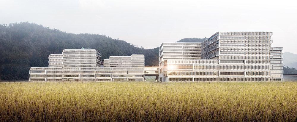 台州医院新院区  中国台州