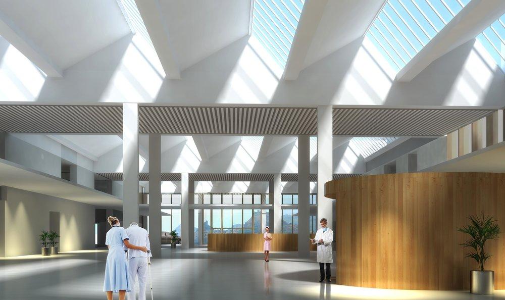 瑞士西昂医院改扩建  瑞士西昂
