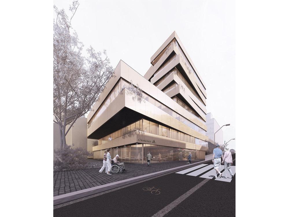 瑞士克莱蒙斯老年医院改扩建  瑞士洛桑