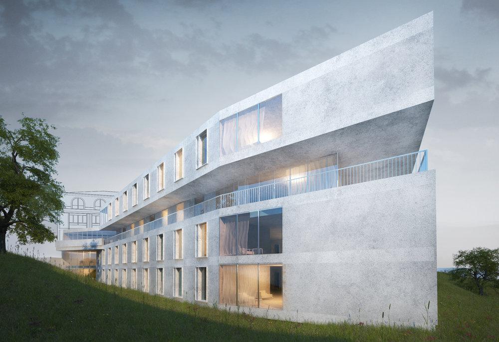 瑞士霍扎维尔养老院改扩建  瑞士洛桑