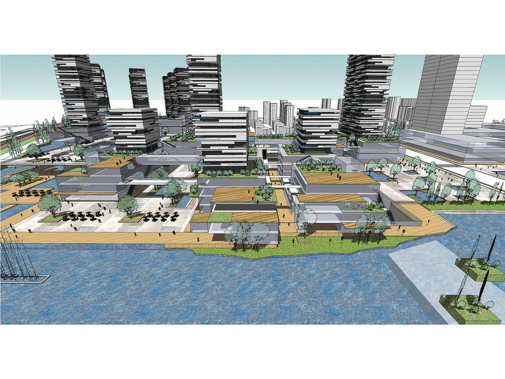 仙林生态复合城市聚落