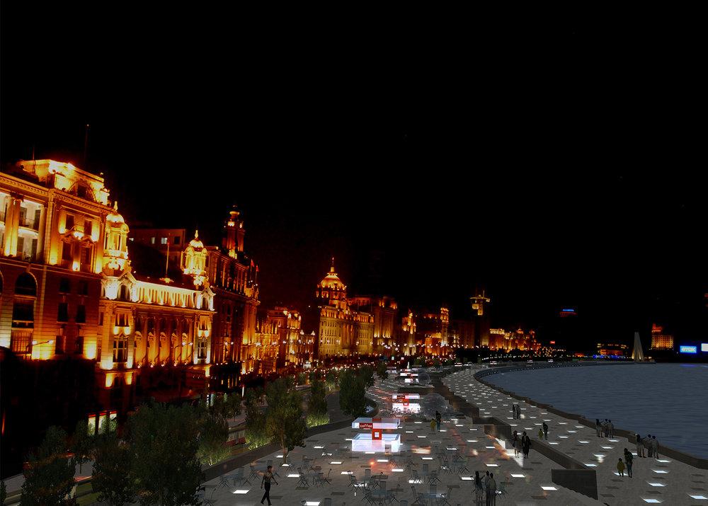 上海外滩滨水区改造规划及城市设计