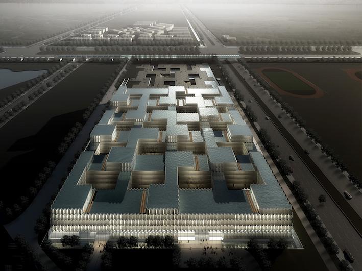 仙林中心区E地块商务办公中心  中国南京