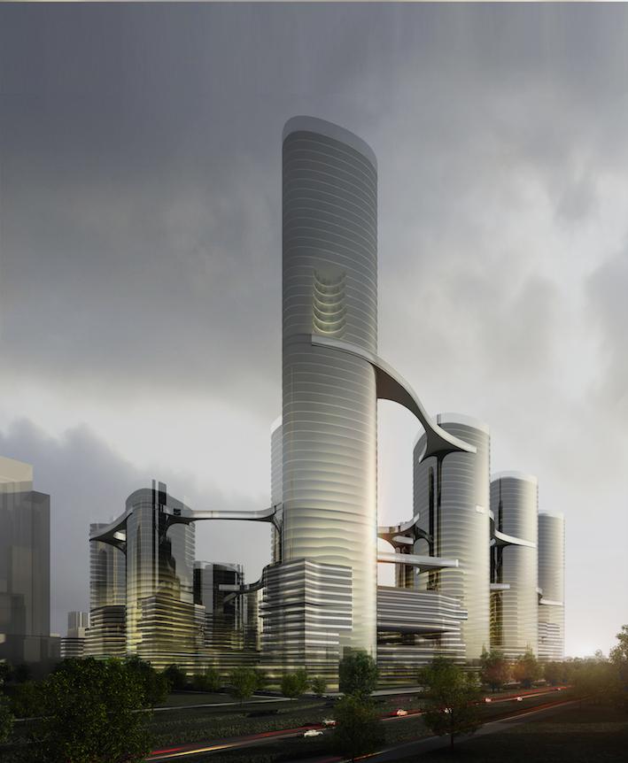 留仙洞总部基地1街坊项目城市设计优化及概念建筑方案设计  中国深圳