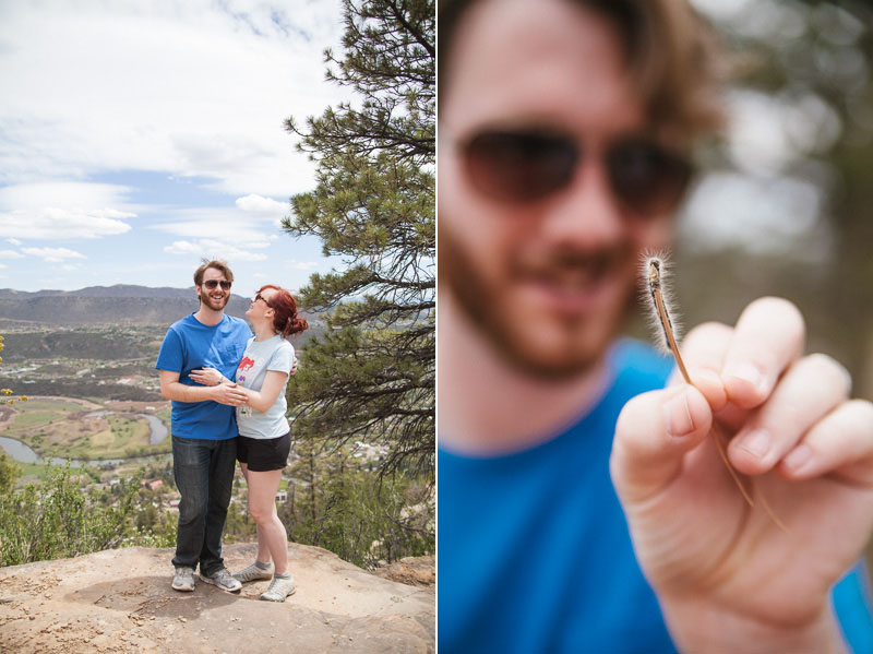 HAILEYKING PHOTOGRAPHY | Chase + Sarah | visiting colorado and hiking with Hailey King Photography