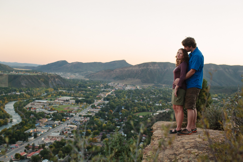 HAILEY KING PHOTOGRAPHY | Shannon + Justin's Animas mountain engagement portrait in Durango, Colorado | photography by haileyking.com