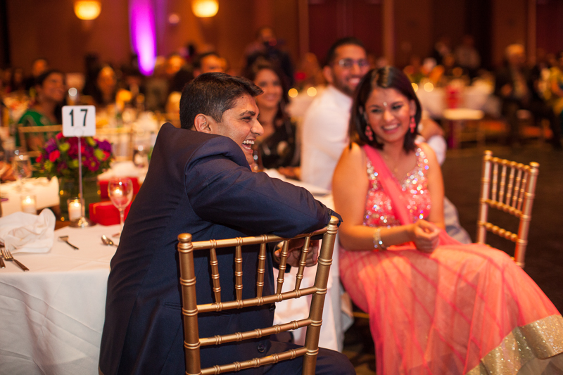 Divya and Sunil's Indian Wedding Reception | Portland, Oregon Wedding Photography | Hailey King Photography