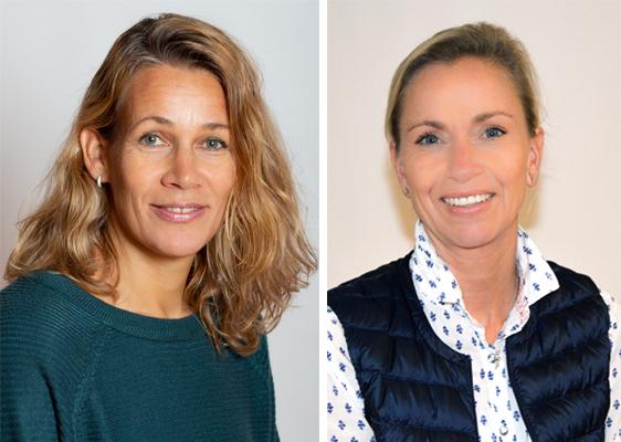 School Nurses - Caroline de Jongh & Hege Webster Room 401