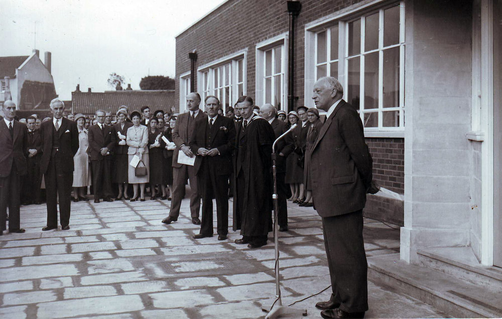 Science Opening of new Science building 20 Oct 1958 Evening Post.JPG