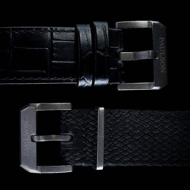 Featuring a 20mm engraved buckle made from Grade 5 brushed titanium.  The Pearl Diver comes with two straps for your business and leisure activities; a genuine Italian leather strap and a black perlon strap. |  The Paulson Pearl Diver... launching soon on Indiegogo.com |  One of the world's toughest, lightest, slimmest dive watches. For more info visit www.paulsonwatches.com or email mail@paulsonwatches.com  #watches #divewatches #titaniumwatch #diverswatch #newwatch #paulsonwatches #watches #watch #watchfam #watchoftheday #watchesofinstagram #watchaddict #watchgeek #wristshot #wristporn #watchnerd #diverwatch #instawatch #diver #watchfamasia #miyota #miyota9015 #superluminova #lightweightwatch #diverswatchaddict #diverswatches #genuineitalianleather #genuineleather #italianleather