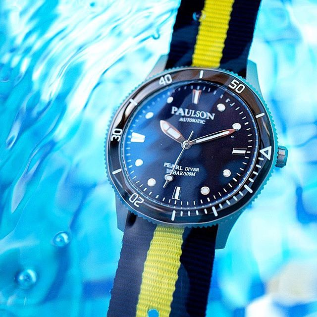 Order your Paulson Pearl Diver now!  Click the link below:  https://igg.me/at/paulsonwatches/x/18973760  #grade5titanium  #divewatch  #automatic The Paulson Pearl Diver is one of the world's toughest, lightest, slimmest automatic dive watches... www.paulsonwatches.com  #watches #divewatches #titaniumwatch #diverswatch #newwatch #paulsonwatches #watches #watch #watchfam #watchoftheday #watchesofinstagram #watchaddict #watchgeek #wristshot #wristporn #watchnerd #diverwatch #instawatch #diver #watchfamasia #miyota #miyota9015 #superluminova #lightweightwatch #diverswatchaddict #diverswatches #wornandwound#paulsonpearldiver
