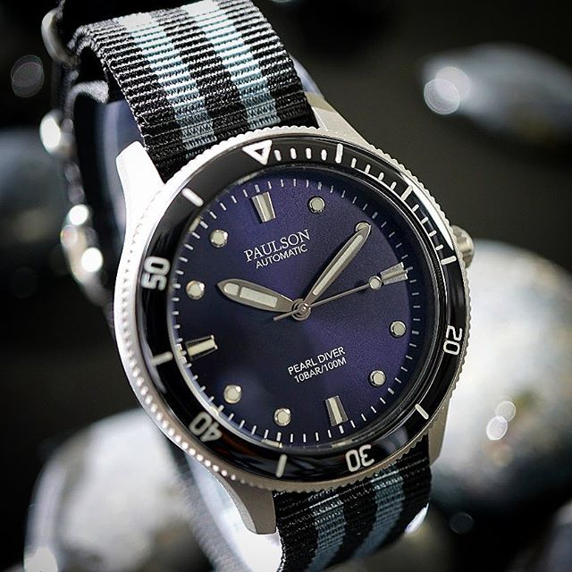 Order your Paulson Pearl Diver now!  Click the link below:  https://igg.me/at/paulsonwatches/x/18973760  #grade5titanium  #divewatch  #automatic The Paulson Pearl Diver is one of the world's toughest, lightest, slimmest automatic dive watches... www.paulsonwatches.com  #watches #divewatches #titaniumwatch #diverswatch #newwatch #paulsonwatches #watches #watch #watchfam #watchoftheday #watchesofinstagram #watchaddict #watchgeek #wristshot #wristporn #watchnerd #diverwatch #instawatch #diver #watchfamasia #miyota #miyota9015 #superluminova #lightweightwatch #diverswatchaddict #diverswatches #wornandwound