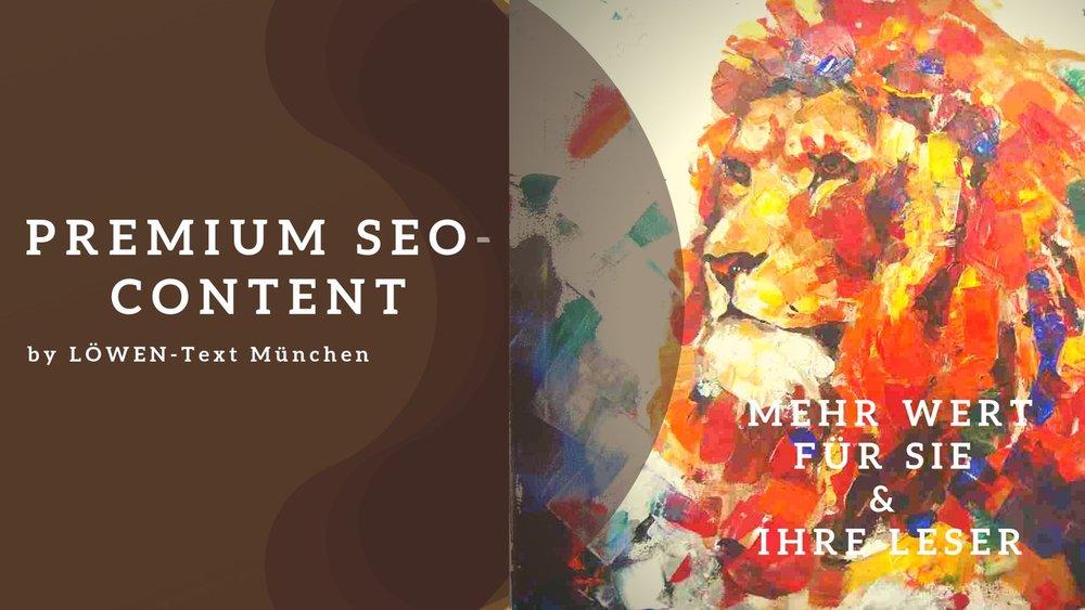 Premium SEO-Content von LÖWEN-Text