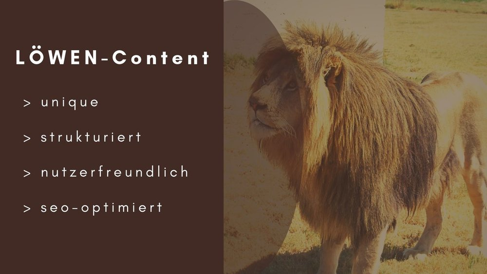 SEO-Texte schreiben lassen von LÖWEN-Text München