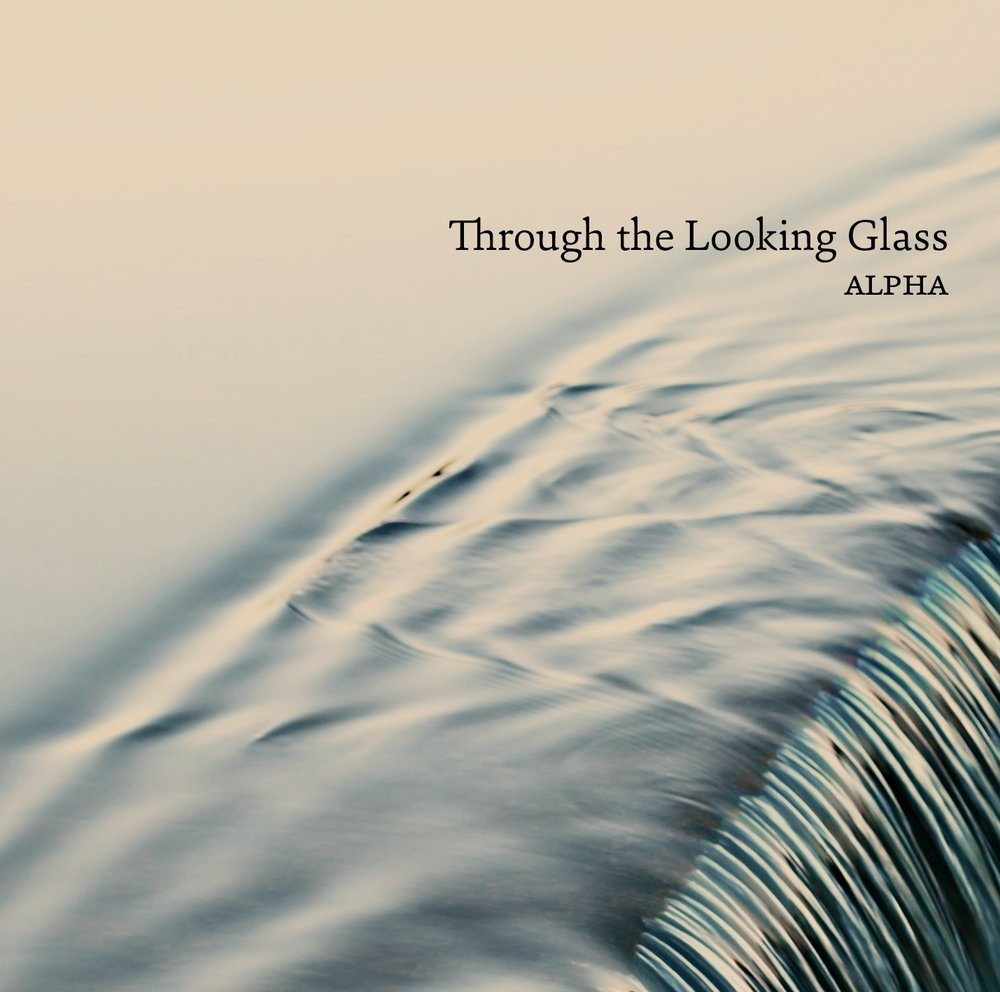 THROUGH THE LOOKING GLASS - Played and recorded entirely by heart, Alpha's close encounter with the musical essences of seven different works seems to reveal the form and richness of each composer's imagination in a new magical reflection. Featuring Bolette Roed (recorders), Peter Navarro-Alonso (saxophones) and David Hildebrandt (percussion). Dacapo Records 2012.