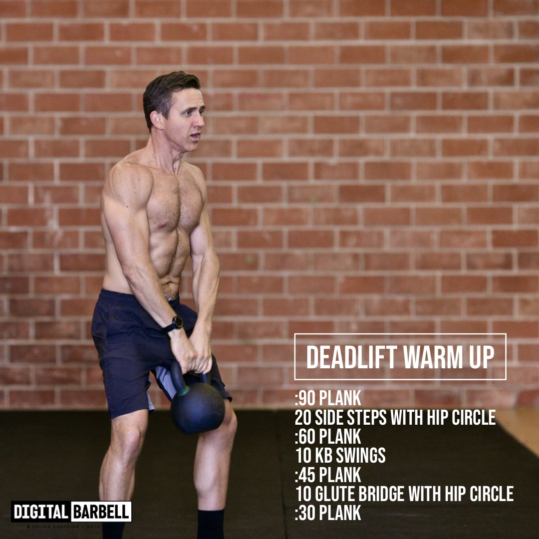 DEADLIFT WARM UP — Digital Barbell
